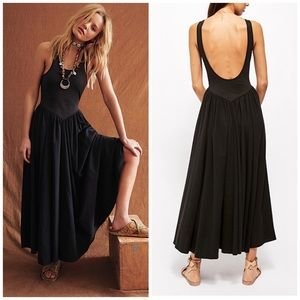 Free People Emily's Midi Dress XS